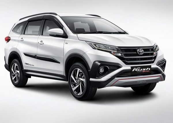Toyota rush 2021
