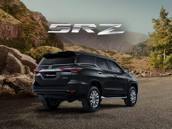 New Fortuner SRZ