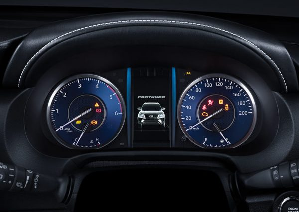 New Fortuner Speedo